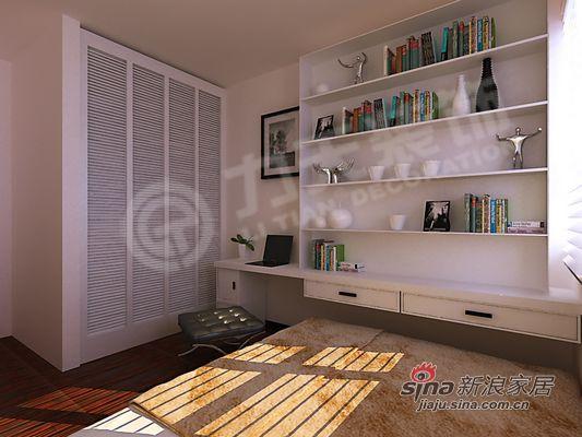 简约 二居 书房图片来自阳光力天装饰在清爽大气,就在这里!94的分享