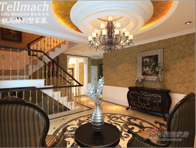 欧式 别墅 玄关图片来自用户2772873991在48万打造500平新欧式风格别墅设计86的分享