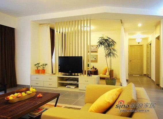 简约 三居 客厅图片来自用户2739153147在8万元演绎机简主义新居81的分享