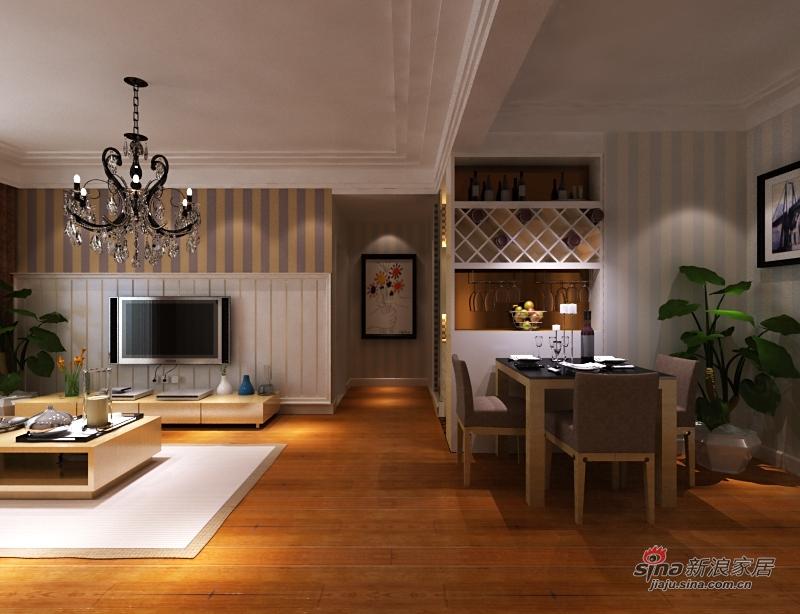 简约 三居 客厅图片来自用户2737735823在看三口之家三居室如何享受生活96的分享
