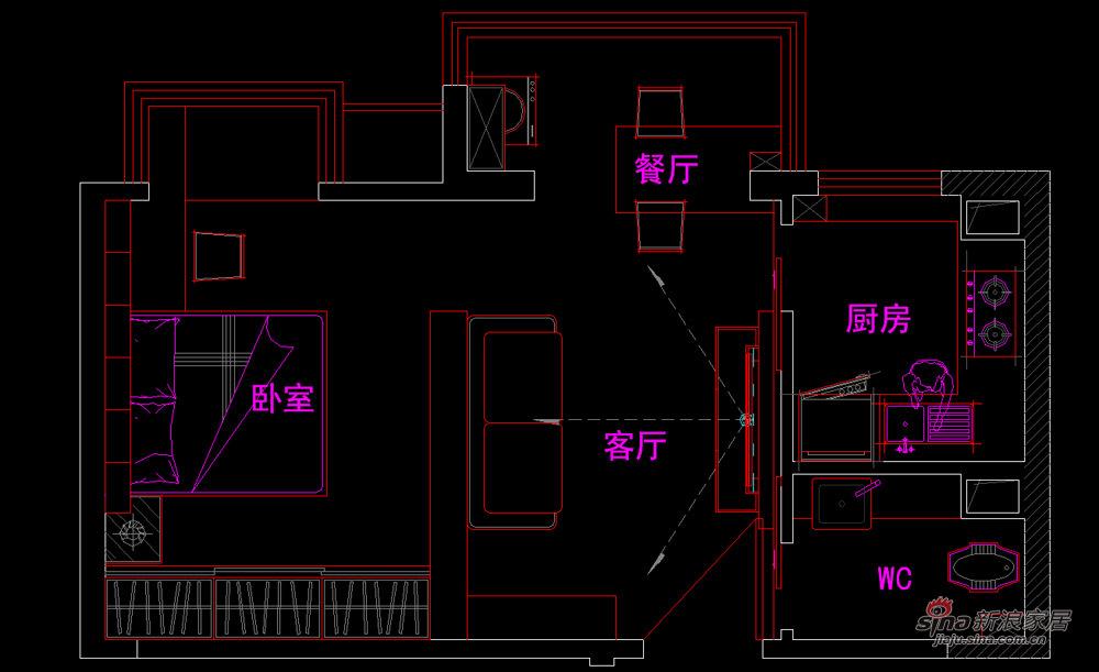 简约 一居 客厅图片来自用户2738093703在低碳蜗居-------感受设计力量24的分享