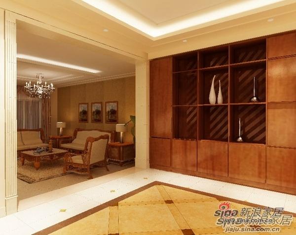 欧式 三居 玄关图片来自用户2772873991在自然、古朴的简欧居室40的分享