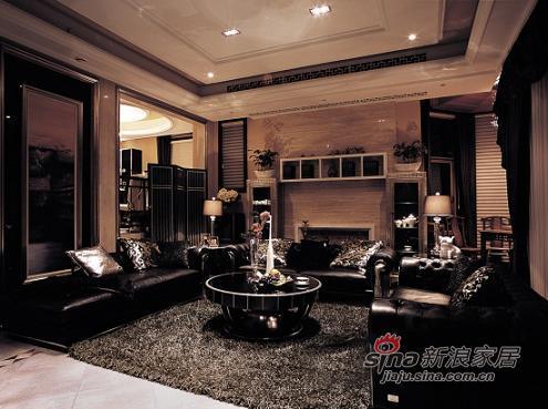 混搭 别墅 客厅图片来自用户1907655435在23.8万装五口温馨混搭居41的分享