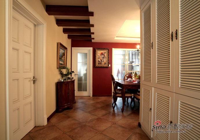 欧式 跃层 玄关图片来自用户2557013183在欧式loft奢华设计81的分享