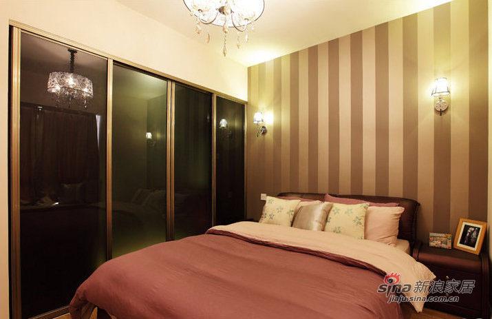 简约 三居 卧室图片来自装修微日记在【高清】12万打造89平简约淡雅三居室79的分享
