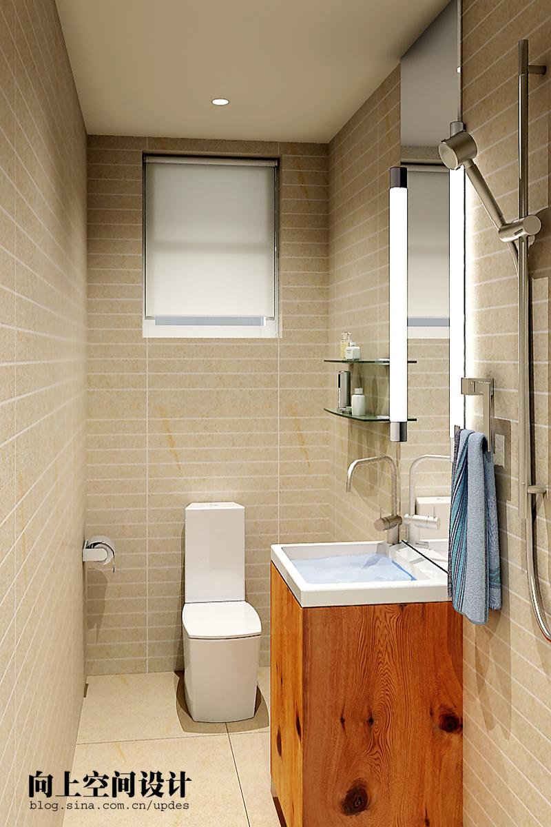 简约 二居 卫生间图片来自用户2738820801在旧房改造纯色美家19的分享
