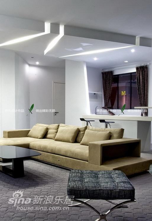 简约 四居 客厅图片来自用户2738829145在上海红星样板房之纯情素雅30的分享