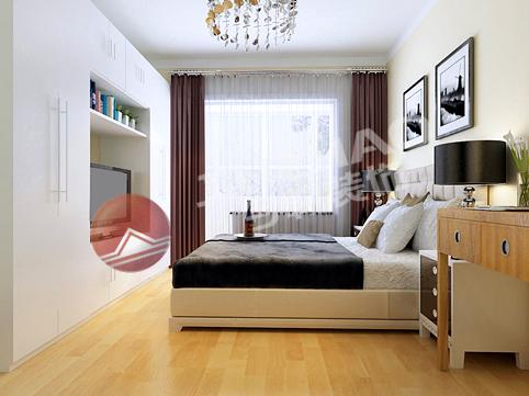 简约 二居 卧室图片来自用户2745807237在红色经典 点缀你的家80的分享