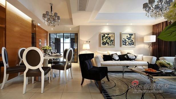 简约 三居 客厅图片来自用户2737735823在11万打造108平方时尚简约三居室30的分享