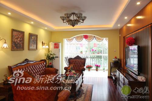 欧式 别墅 客厅图片来自用户2772856065在英式田园35的分享
