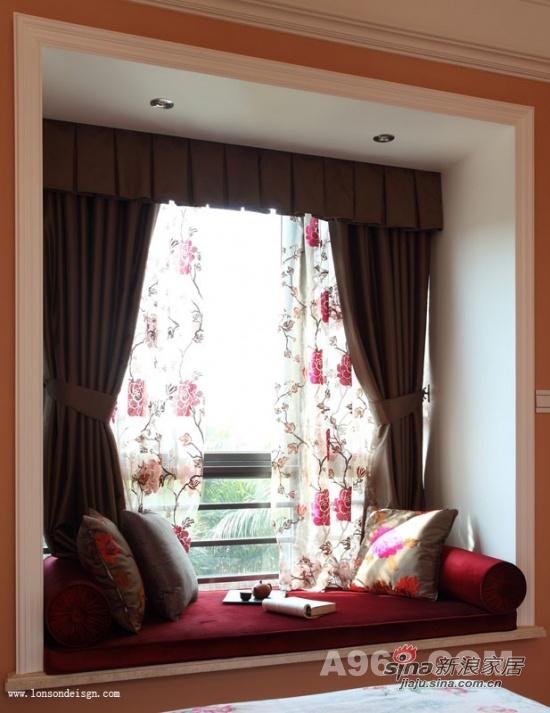 中式 复式 卧室图片来自用户1907659705在打造独具魅力的中国风三层复式19的分享