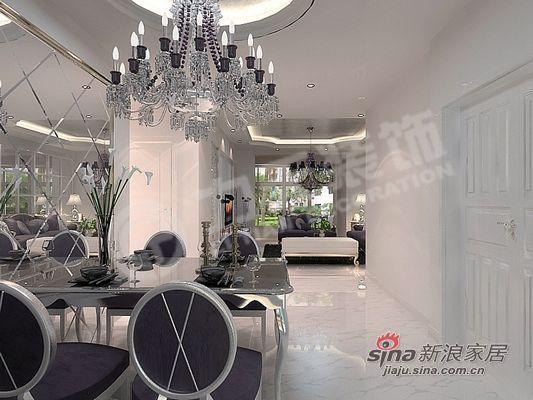 简约 二居 餐厅图片来自阳光力天装饰在大气典雅型完美布置方案62的分享