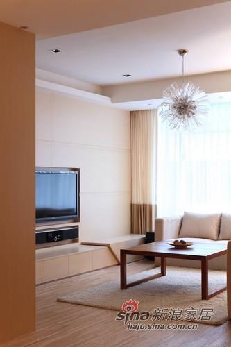 简约 二居 客厅图片来自用户2737735823在干练男花光积蓄装100平原木北欧家19的分享