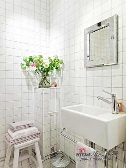 简约 一居 卫生间图片来自用户2738813661在靓丽的单身小户56的分享