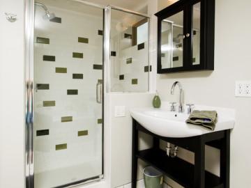 浴室也可以既漂亮又实用