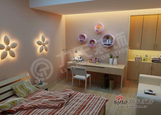 简约 二居 书房图片来自阳光力天装饰在温馨的家,就在这里!10的分享