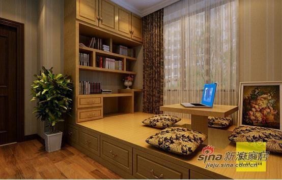 书房兼临时客房,两用的,榻榻米设计