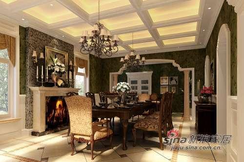 混搭 别墅 餐厅图片来自用户1907689327在300平米别墅混搭无限风光26的分享