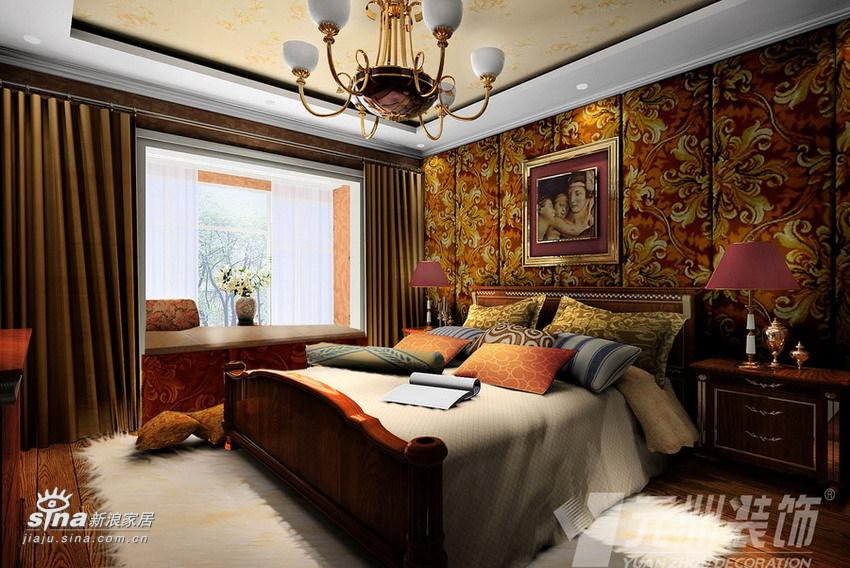 欧式 三居 卧室图片来自用户2746953981在典雅欧式98的分享