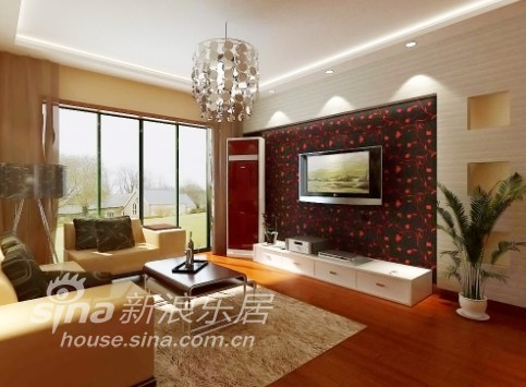 简约 三居 客厅图片来自用户2738829145在苏州业之峰装饰案例赏析一46的分享