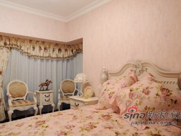 浪漫主义的简欧风格打造142平别墅18