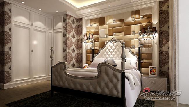 混搭 其他 卧室图片来自用户1907691673在【多图】300平后奢华风情大宅85的分享