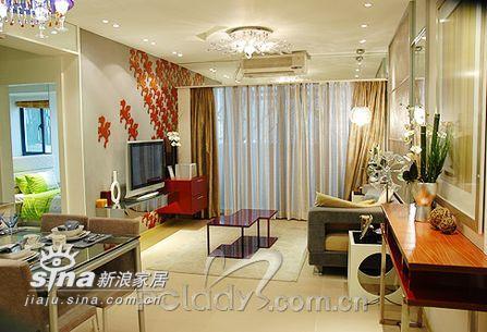 简约 二居 客厅图片来自用户2738093703在属于两个人的76平米样板间11的分享