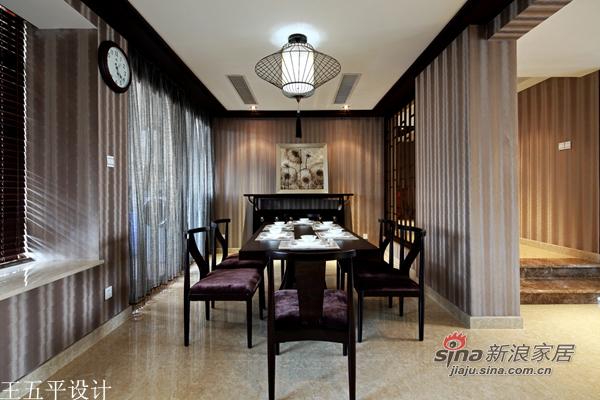中式 三居 餐厅图片来自用户1907659705在【多图】新中式的魅惑27的分享
