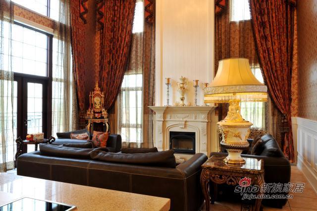 欧式 四居 客厅图片来自用户2746953981在319平米大平层欧式效果图27的分享