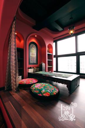 其他 二居 阳台图片来自上海映象设计-无锡站在【高清】半包11万打造98平红墨坊70的分享