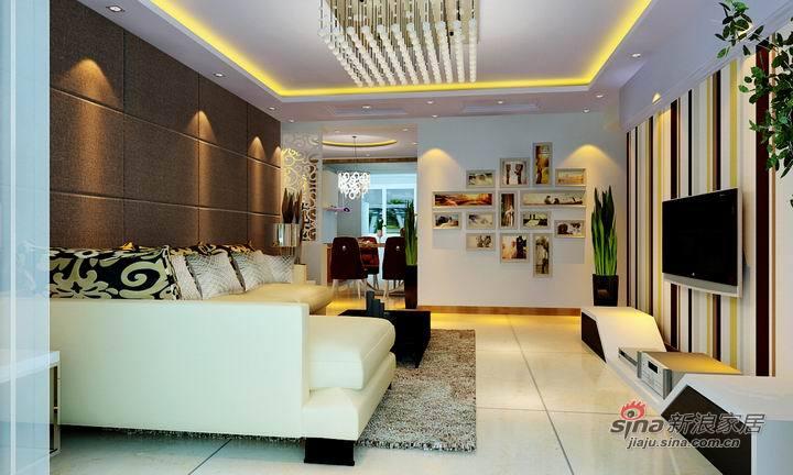 简约 二居 客厅图片来自用户2737782783在看空间功能如何相互渗透,利用率达到最高28的分享