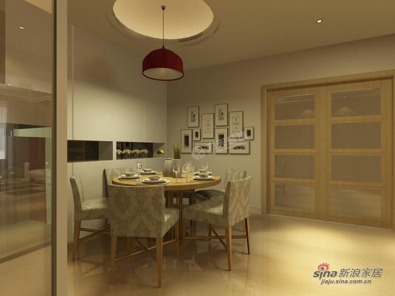 简约 二居 餐厅图片来自用户2737786973在振业城中央 120㎡-二室一厅-现代简约76的分享