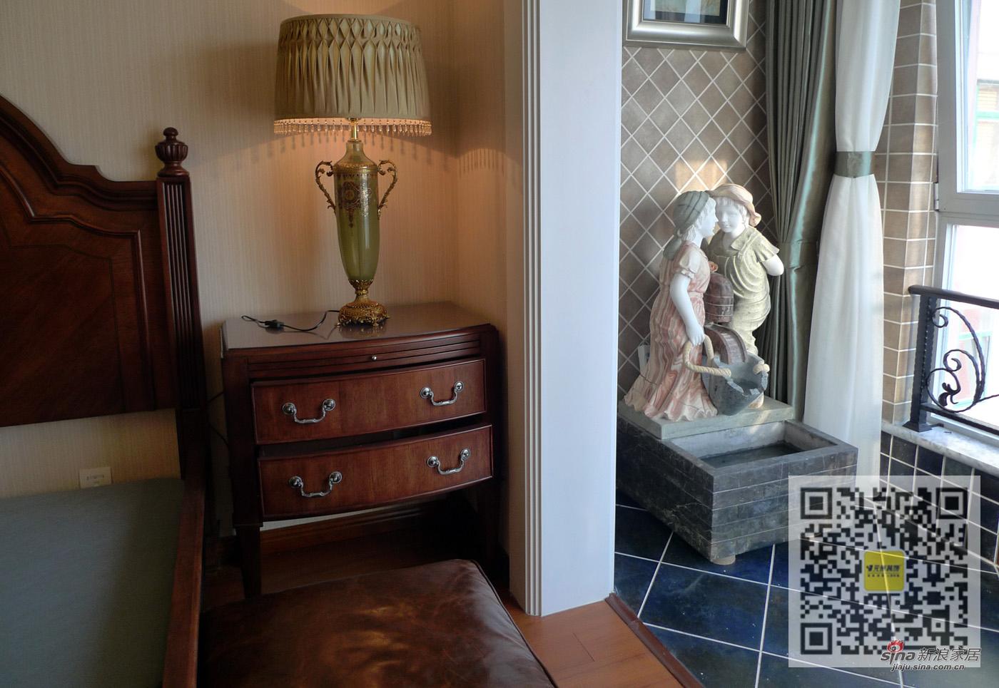 欧式 四居 卧室图片来自用户2746953981在四居室欧式风格装修案例95的分享
