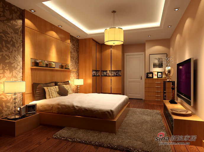 混搭 二居 卧室图片来自用户1907691673在简欧地中海混搭美家28的分享