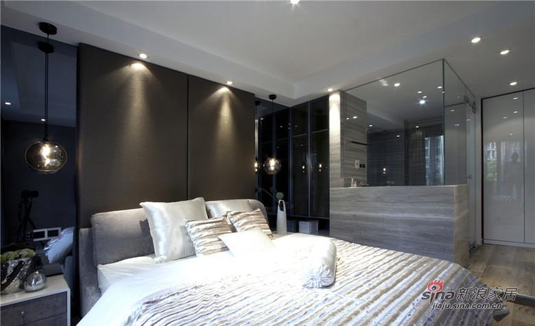 混搭 三居 卧室图片来自用户1907655435在【高清】9万装125平混搭时尚三居14的分享