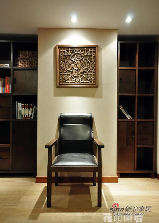 中式 复式 客厅图片来自用户1907696363在【高清】俏主妇148平清新中式风情复式81的分享