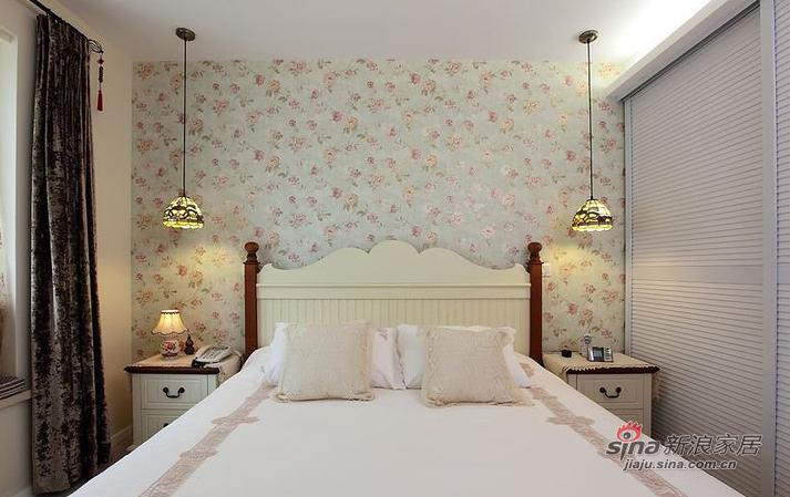 田园 二居 卧室 公主房图片来自家装大管家在【高清】90平色彩舒适田园两居室62的分享