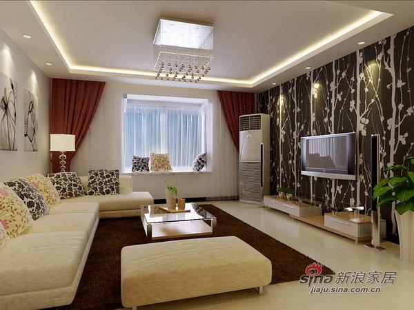 简约 二居 客厅图片来自用户2737759857在武警总队两居室56的分享
