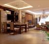 123平保利公园九里中式风格三居室