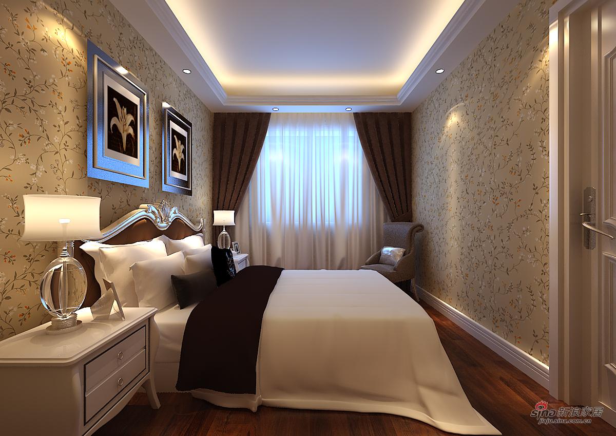 欧式 别墅 卧室图片来自用户2557013183在首创溪堤郡效果图27的分享