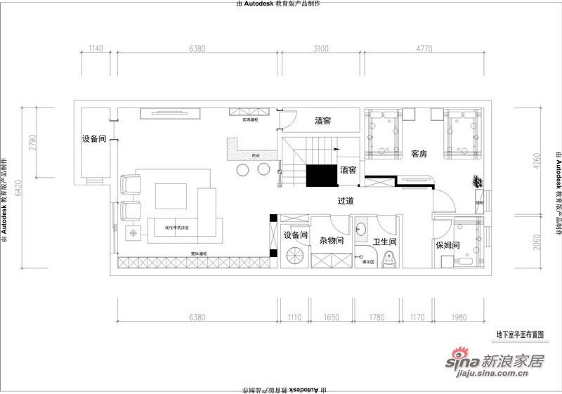 中式 别墅 其他图片来自用户1907659705在260平中西结合庄重优雅别墅设计67的分享