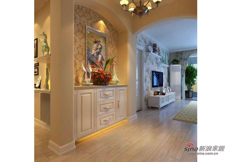田园 二居 客厅图片来自用户2737791853在88平米保利茉莉公馆田园风格装修69的分享