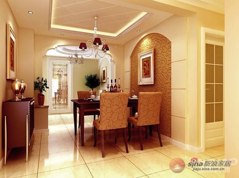 简约 三居 餐厅图片来自用户2739081033在西山林语 120平米 现代简约风格85的分享