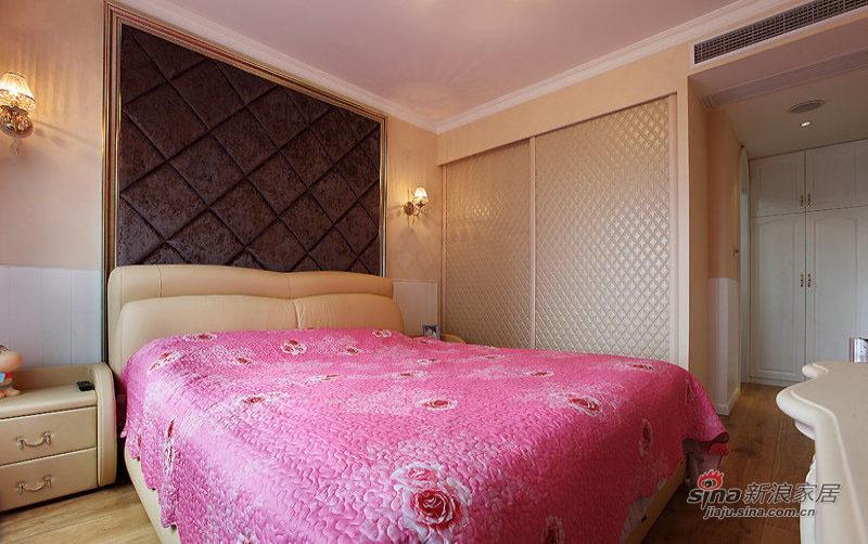 欧式 三居 卧室图片来自装修微日记在【高清】9万打造124平欧式风情三居49的分享