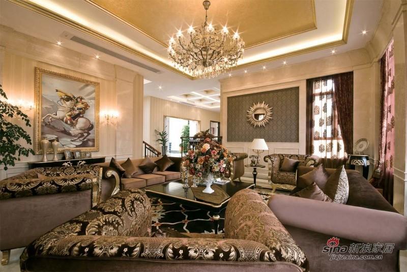 新古典 别墅 客厅图片来自用户1907664341在【多图】优雅欧式古典装修设计58的分享