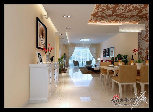 简约 三居 餐厅图片来自用户2738829145在121平打造幸福时代简约装修设计案例44的分享
