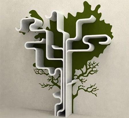 关于书与树的创意!