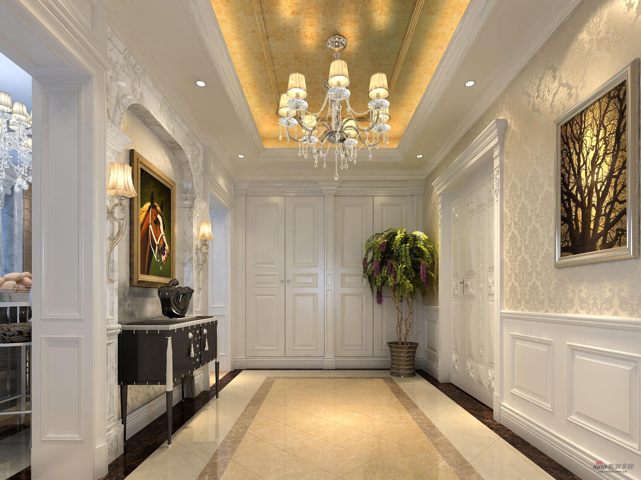 新古典 别墅 玄关图片来自用户1907701233在提香.草堂大别墅新古典典范43的分享