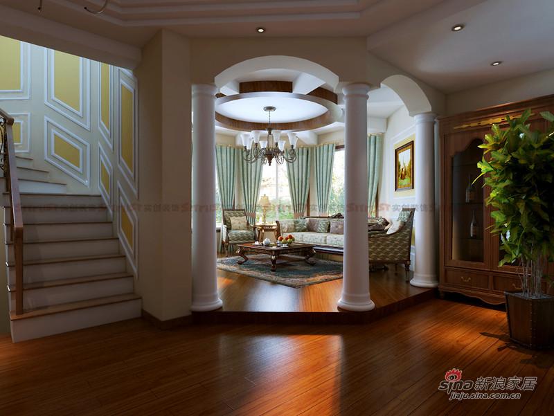 欧式 别墅 其他图片来自用户2757317061在521平欧式田园风别墅装修设计22的分享