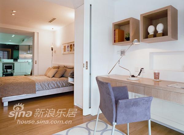 简约 一居 卧室图片来自用户2738829145在徐汇御园47的分享